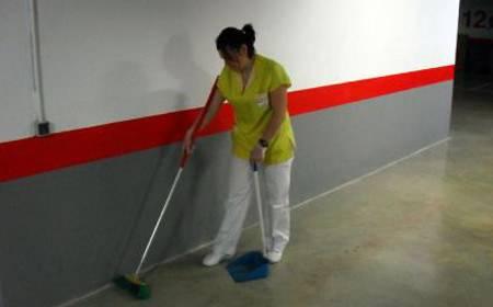Limpieza de garajes en Valencia -  Limpiezas Ortega